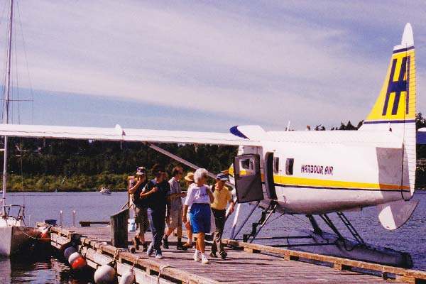PALLAS-Seminare - Seminarleiter-Tour mit De Havilland Otter von Harbour Air, Nanaimo, Kanada