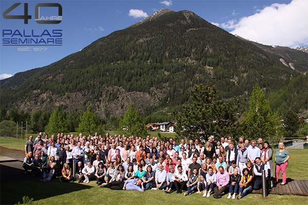 PALLAS-Seminare 40 Jahre Feier im Hotel Auquadome, Österreich