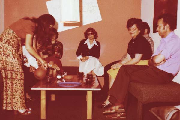 PALLAS-Seminare - Gisela Pallas mit Seminargruppe in Ainring
